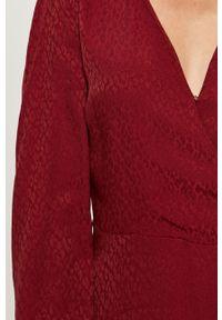Czerwona sukienka Morgan na co dzień, prosta, mini #5