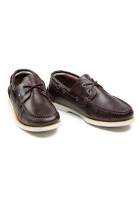 Półbuty TOMMY HILFIGER - Classic Leather Boat Shoe FM0FM02735 Cocoa GT6. Okazja: na co dzień. Kolor: brązowy. Materiał: skóra. Styl: casual, elegancki, sportowy