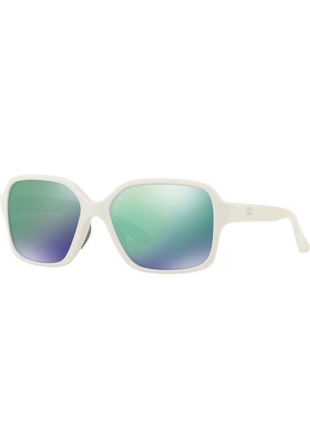 Białe okulary przeciwsłoneczne Oakley