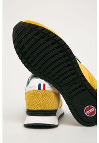 Colmar - Buty. Nosek buta: okrągły. Zapięcie: sznurówki. Kolor: żółty. Materiał: guma, syntetyk, materiał, skóra, zamsz. Szerokość cholewki: normalna #3