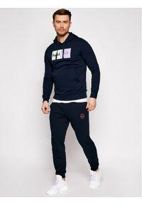 Jack & Jones - Jack&Jones Spodnie dresowe Gordon 12165322 Granatowy Regular Fit. Kolor: niebieski. Materiał: dresówka