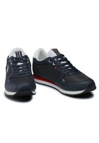 U.S. Polo Assn - Sneakersy U.S. POLO ASSN. - Wily WILYS4096S1 Navy. Okazja: na co dzień. Kolor: niebieski. Materiał: skóra ekologiczna, materiał. Szerokość cholewki: normalna. Styl: sportowy, casual
