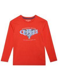 Guess Bluzka L1YI02 K8HM0 Czerwony Regular Fit. Kolor: czerwony