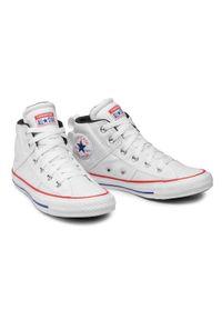 Białe trampki Converse z cholewką