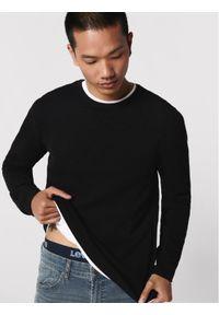 Only & Sons - ONLY & SONS Sweter Panter 22016980 Czarny Regular Fit. Kolor: czarny. Wzór: motyw zwierzęcy