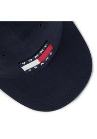 Fioletowa czapka z daszkiem Tommy Jeans
