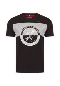 T-shirt Aeronautica Militare z aplikacjami