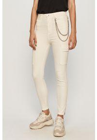 Kremowe jeansy TALLY WEIJL