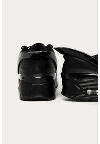 Czarne sneakersy Nike Sportswear z cholewką, Nike Air Max 90, na sznurówki