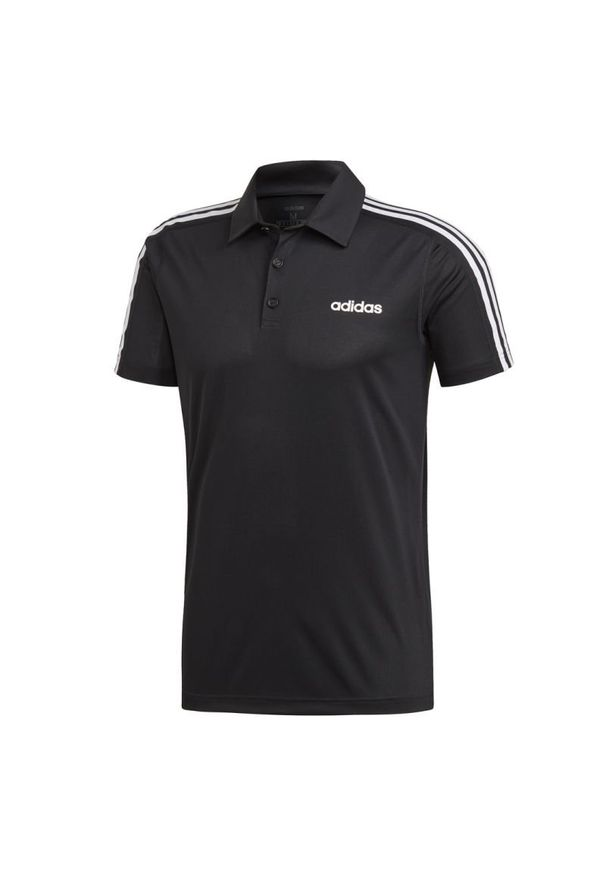 Koszulka sportowa Adidas krótka, polo, w kolorowe wzory, ClimaCool (Adidas)