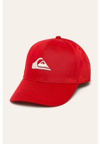Czerwona czapka z daszkiem Quiksilver