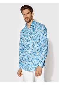Rage Age Koszula Indie 2 Niebieski Regular Fit. Kolor: niebieski