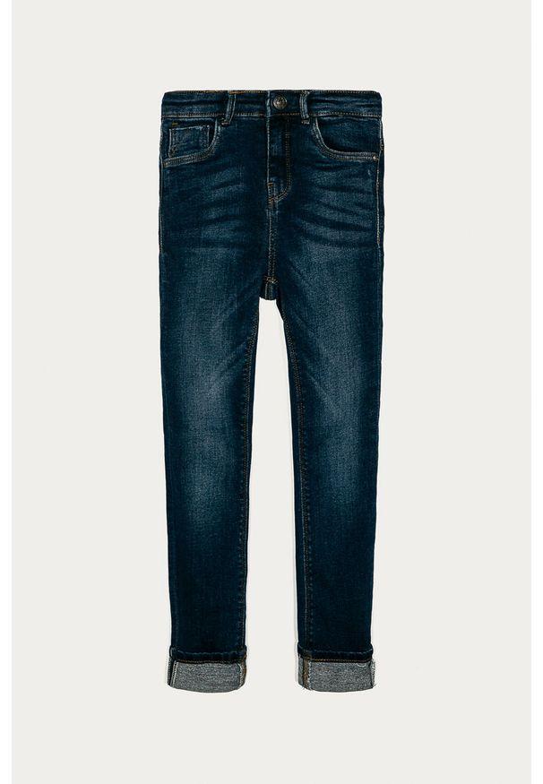 Niebieskie jeansy Kids Only z podwyższonym stanem