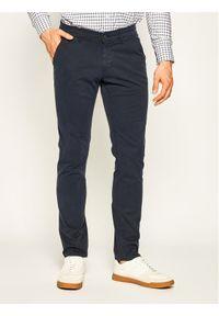 Baldessarini Spodnie materiałowe Justo 16828/000/2206 Granatowy Regular Fit. Kolor: niebieski. Materiał: materiał