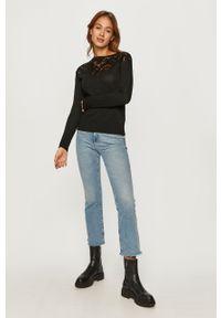Czarny sweter Desigual casualowy, z długim rękawem, na co dzień #5