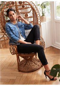 Czarne jeansy bonprix długie #7