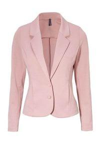 Freequent Żakiet Nanni różowy female różowy XL (44). Kolor: różowy. Materiał: jersey. Styl: elegancki