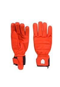 Hestra - Rękawice narciarskie HESTRA ALPINE LEATHER PRIMALOFT. Materiał: skóra, neopren. Technologia: Primaloft. Wzór: motyw zwierzęcy. Sport: narciarstwo