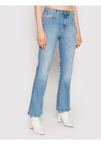Niebieskie jeansy bootcut TOMMY HILFIGER