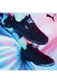 Czarne sneakersy Puma Suede