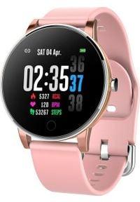 Smartwatch Roneberg RY9 Różowy. Rodzaj zegarka: smartwatch. Kolor: różowy