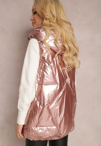 Renee - Różowa Kamizelka Nyroinne. Okazja: na co dzień. Kolor: różowy. Materiał: poliester. Styl: casual