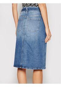 Niebieska spódnica jeansowa Calvin Klein Jeans