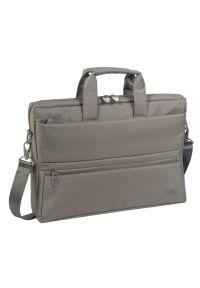 Beżowa torba na laptopa RIVACASE młodzieżowa