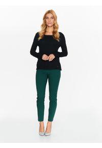 Czarny sweter TOP SECRET na co dzień, długi, z długim rękawem