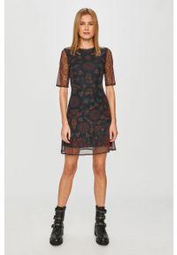 Wielokolorowa sukienka Desigual casualowa, na co dzień, mini, prosta
