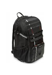 Czarna torba na laptopa TARGUS sportowa, w paski