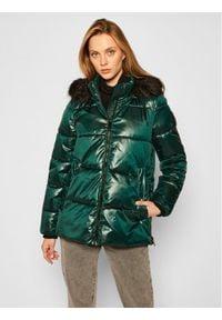 Zielona kurtka zimowa DKNY