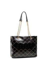 Monnari - Torebka MONNARI - BAG1820-020 Black. Kolor: czarny. Materiał: skórzane. Styl: klasyczny