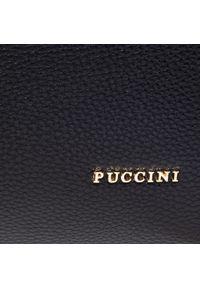 Czarna torebka klasyczna Puccini