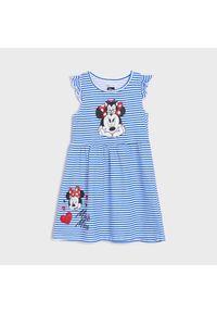 Sinsay - Sukienka Myszka Minnie - Wielobarwny. Wzór: motyw z bajki