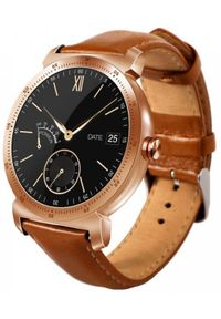 Złoty zegarek GARETT smartwatch, wakacyjny