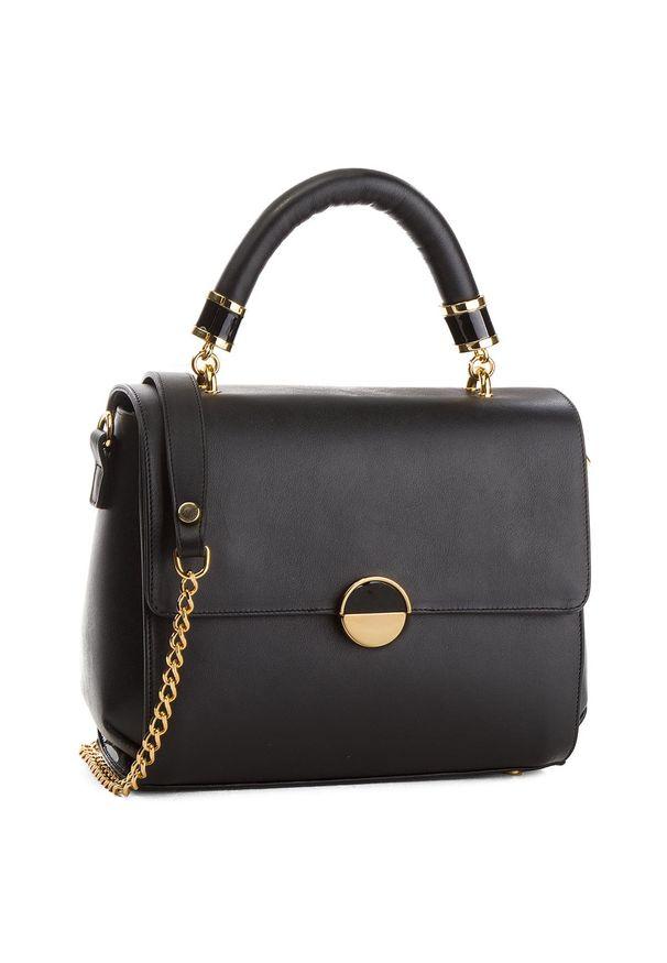 Czarna torebka klasyczna Loriblu klasyczna