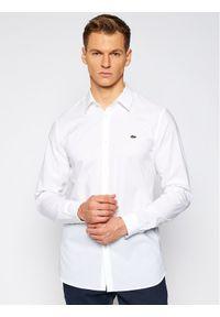Biała koszula casual Lacoste