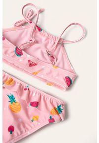 Różowy strój dwuczęściowy Roxy