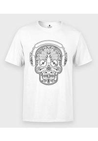 MegaKoszulki - Koszulka męska Muzyczna Sugar Skull. Materiał: bawełna