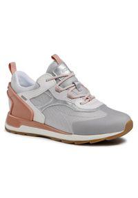 Geox Sneakersy D New Aneko B Abx A D15LYA 00014 C1414 Szary. Kolor: szary