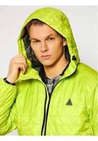 Zielona kurtka przejściowa HUF