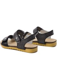 Czarne sandały Bartek