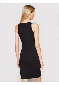 John Richmond Sukienka codzienna Asburn RWP21045VE Czarny Slim Fit. Okazja: na co dzień. Kolor: czarny. Typ sukienki: proste. Styl: casual