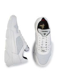 Białe sneakersy Togoshi z cholewką