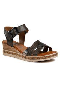 Zielone sandały Remonte