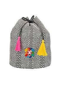 Top Model Plecak ze sznurkiem , Biało-czarny, z lwem. Kolor: wielokolorowy, biały, czarny