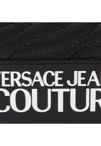 Czarna listonoszka Versace Jeans Couture zdobiona, z aplikacjami