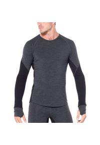 Czarna koszulka sportowa Icebreaker