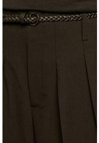 Czarne spodnie materiałowe medicine na co dzień, boho